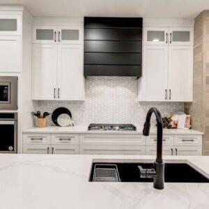 Kitchen by Winnipeg home builder