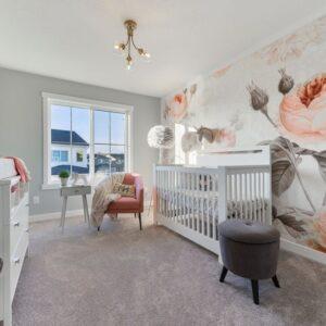 Winnipeg Show Home Nursery